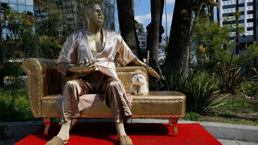 APTOPIX Oscars Weinstein Statue