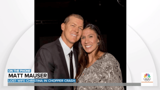 "Matt Mauser mourned the loss of his ""extraordinary"" wife, Christina, who died in the helicopter crash that also killed Kobe Bryant, his daughter, and six others."