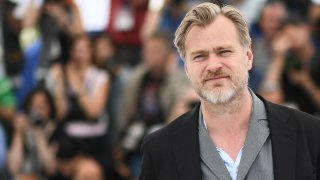 In this May 12, 2018, file photo, British director Christopher Nolan poses during a photocall at the 71st edition of the Cannes Film Festival in Cannes, France.