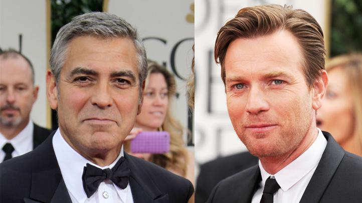 Clooney and Mcgregor