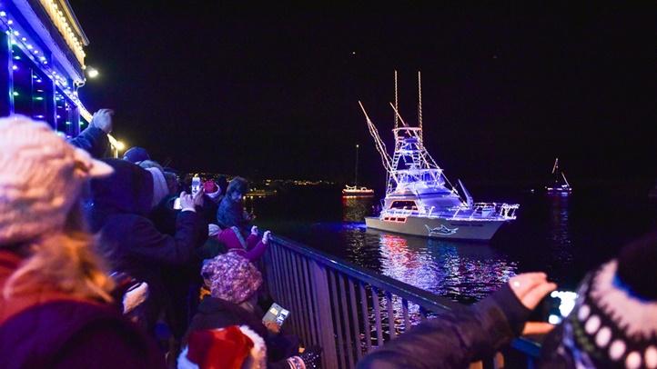 Dana Point Harbor Boat Parade