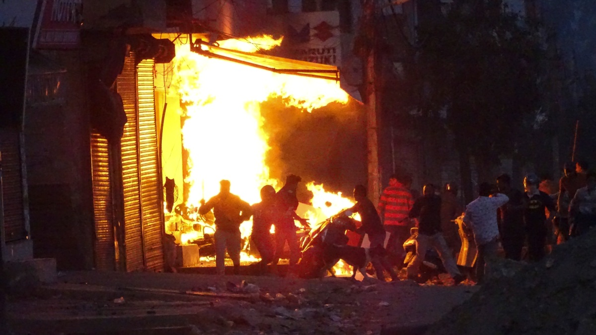 Death Toll Rises to 24 From Delhi Riots During Trump Trip 1