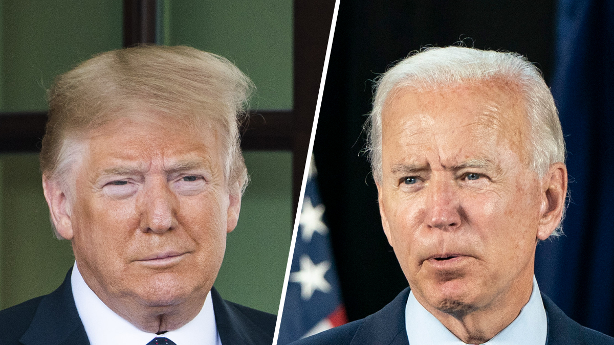Dueling Trump-Biden Events Offer Contrasting Virus Responses 1