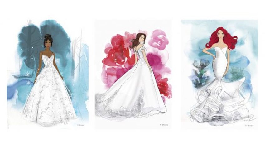 Dresses from Disney's Fairy Tale Weddings Collection