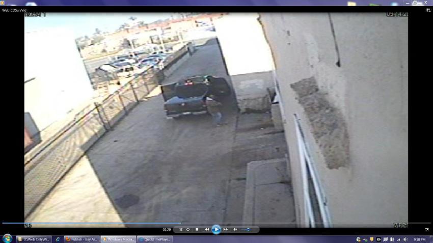 Dorner Surveillance Video