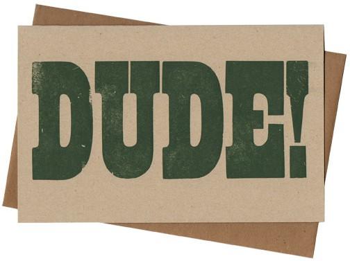 DudeCard