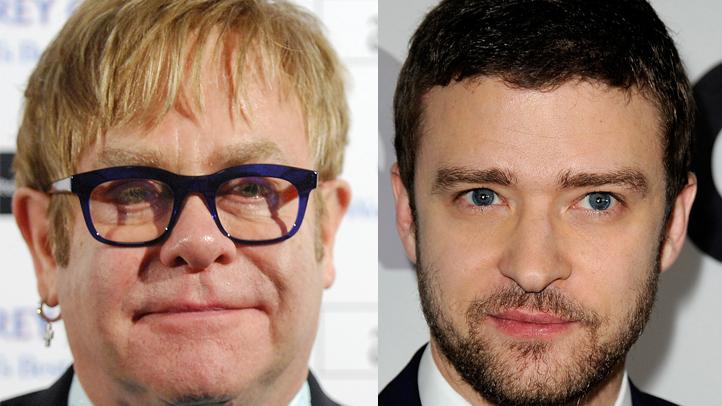 Elton John Justin Timberlake
