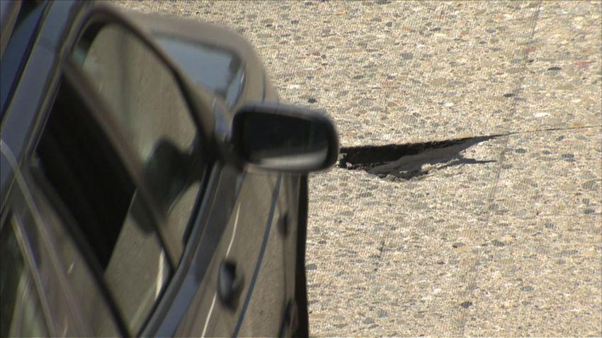 580 Oakland Pothole