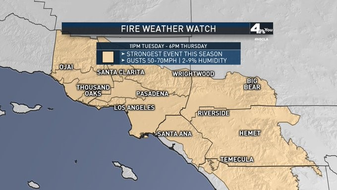 Fire Weather Watch 102819