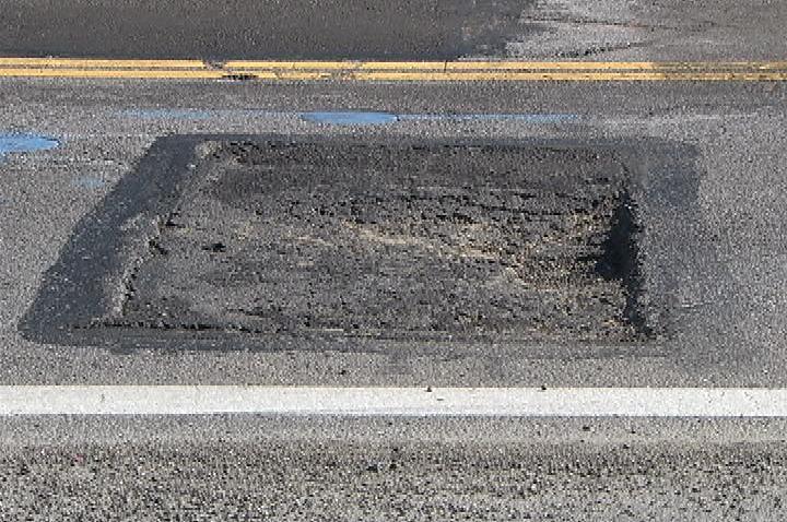 Fixed Pothole