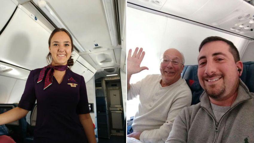 Flight attendant xmas