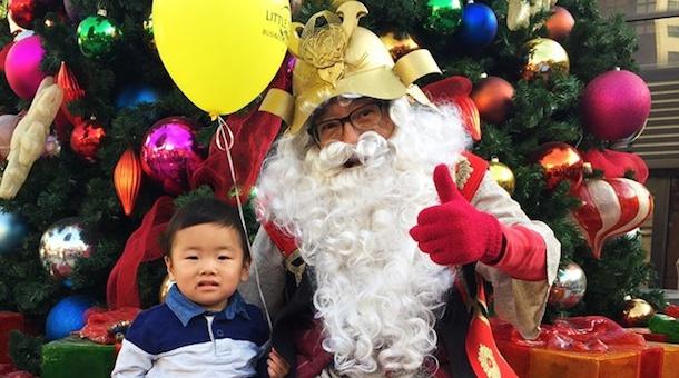 GLT Holidays Shogun Santa
