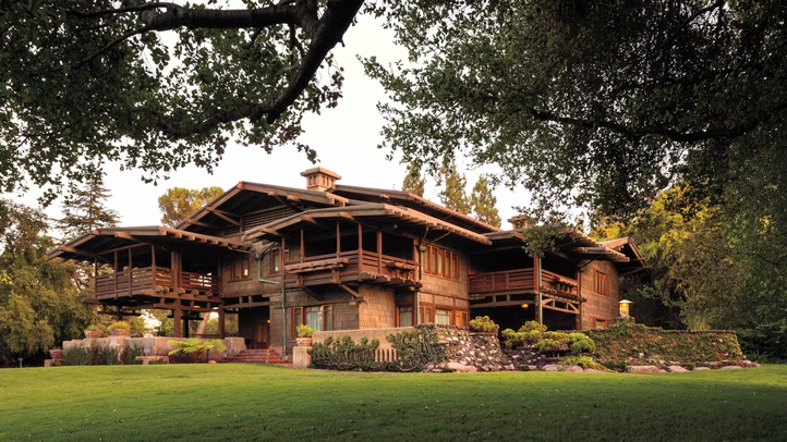 NW Exterior. The Gamble House. 9/3/12 6:51:32 PM