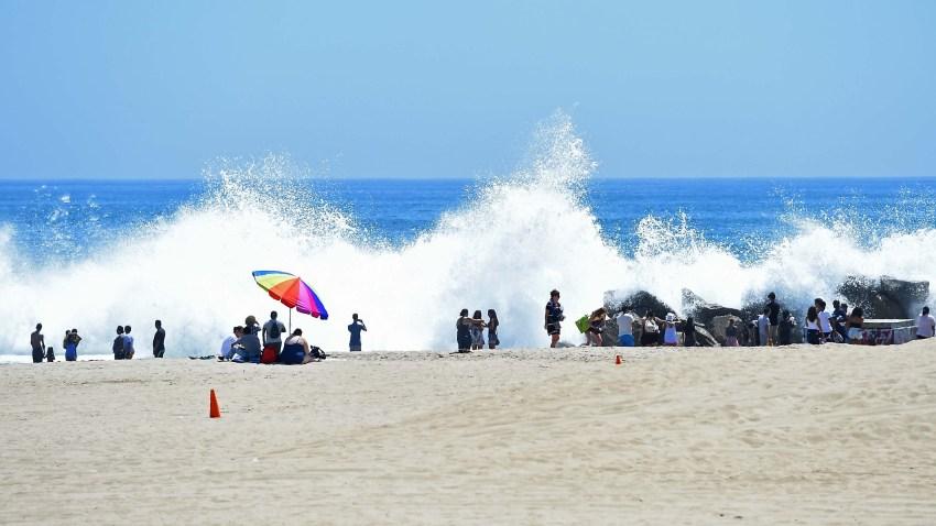 Venice Beach Sunbather Run Over By