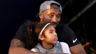 Kobe Bryant and daughter Gianna Bryant