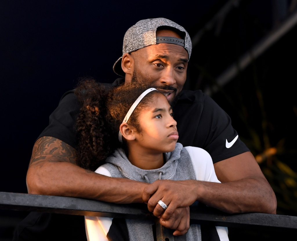 Kobe Bryant and daughter Gianna Bryant
