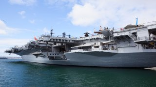 The USS Midway Museum in San Diego.