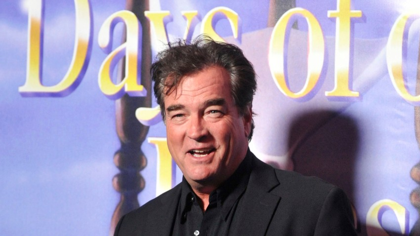 """John Callahan poses for a picture at the """"Days of Our Lives"""" 45th Anniversary party"""