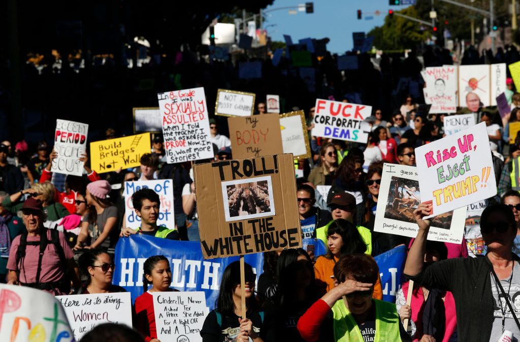 Thousands Attend Women's March LA