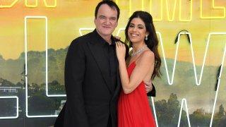 Quentin Tarantino and wife Daniella Pick
