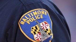 Baltimore City Police shield