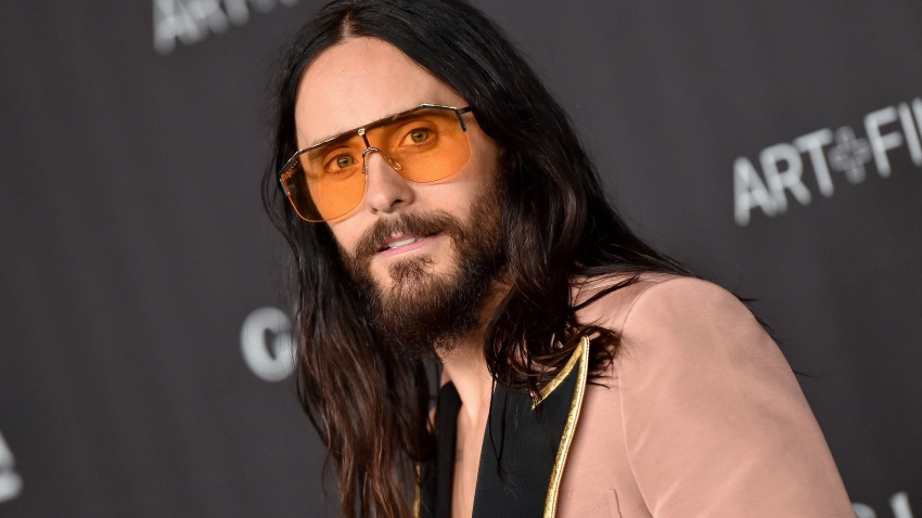 Jared Leto attends the 2019 LACMA Art + Film Gala Presented By Gucci on Nov. 2, 2019, in Los Angeles.