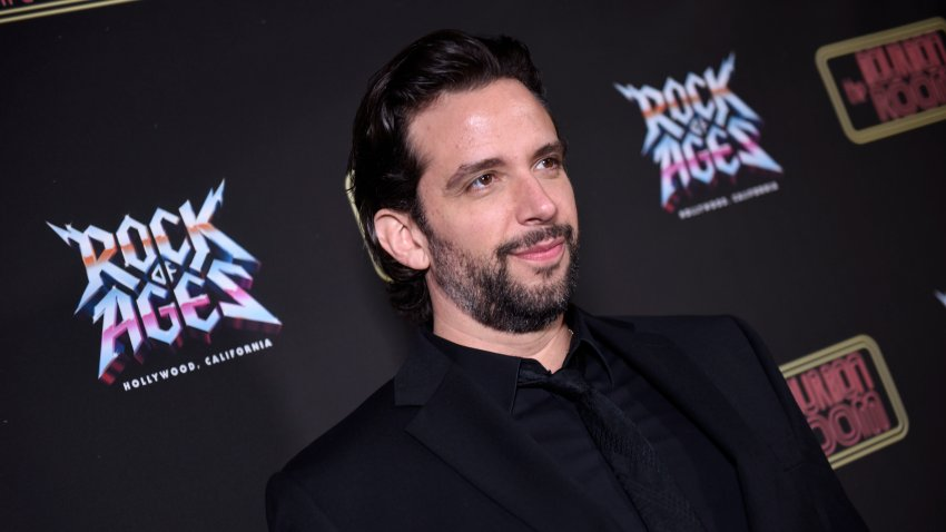 Nick Cordero attends Opening Night Of Rock Of Ages Hollywood At The Bourbon Room at The Bourbon Room on January 15, 2020 in Hollywood, California.