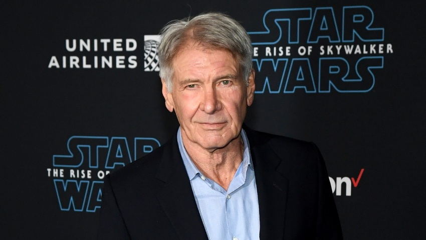 "Harrison Ford arrives at the Premiere of Disney's ""Star Wars: The Rise of Skywalker"""