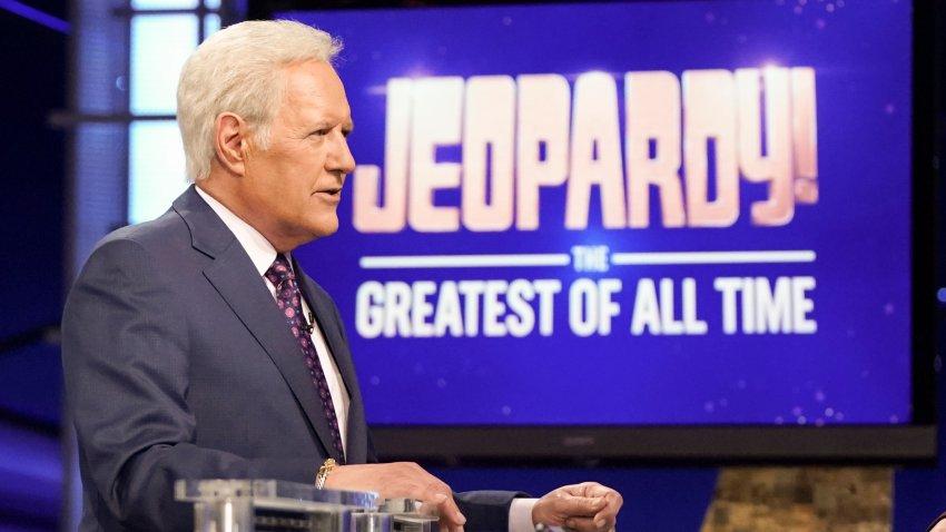 File Image: Jeopardy host Alex Trebek