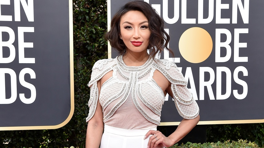 In this Jan. 5, 2020, file photo, Jeannie Mai attends the 77th Annual Golden Globe Awards at The Beverly Hilton Hotel in Beverly Hills, California.