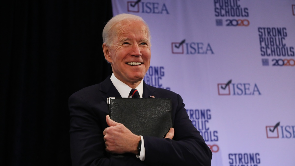 Biden Rips Sanders Campaign for Social Security Attacks 1