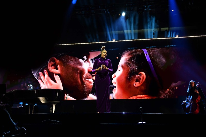 Photos: Tributes to Kobe and Gianna Bryant Were Everywhere on NBA All-Star Weekend