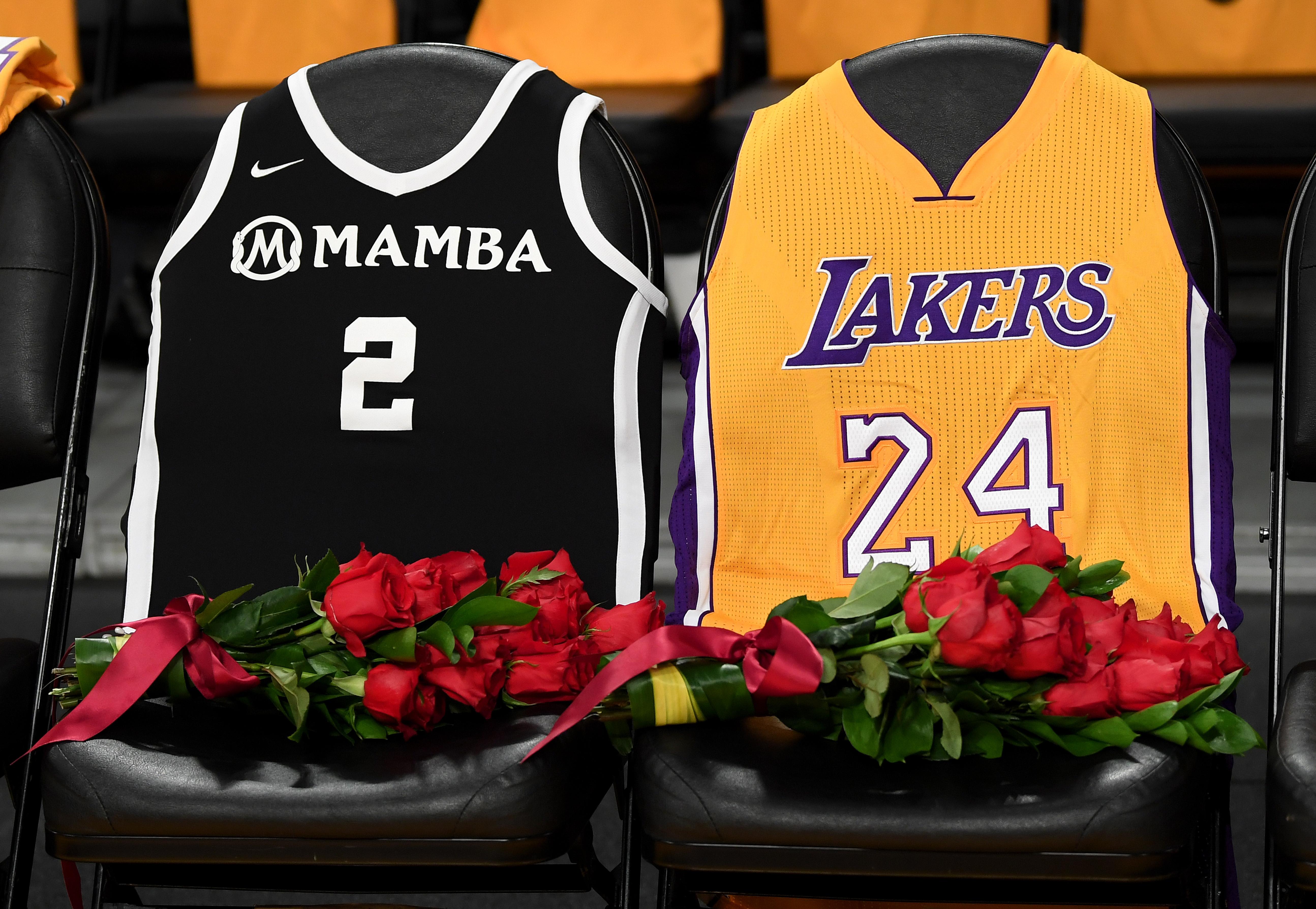 Emotional Kobe Bryant Memorial