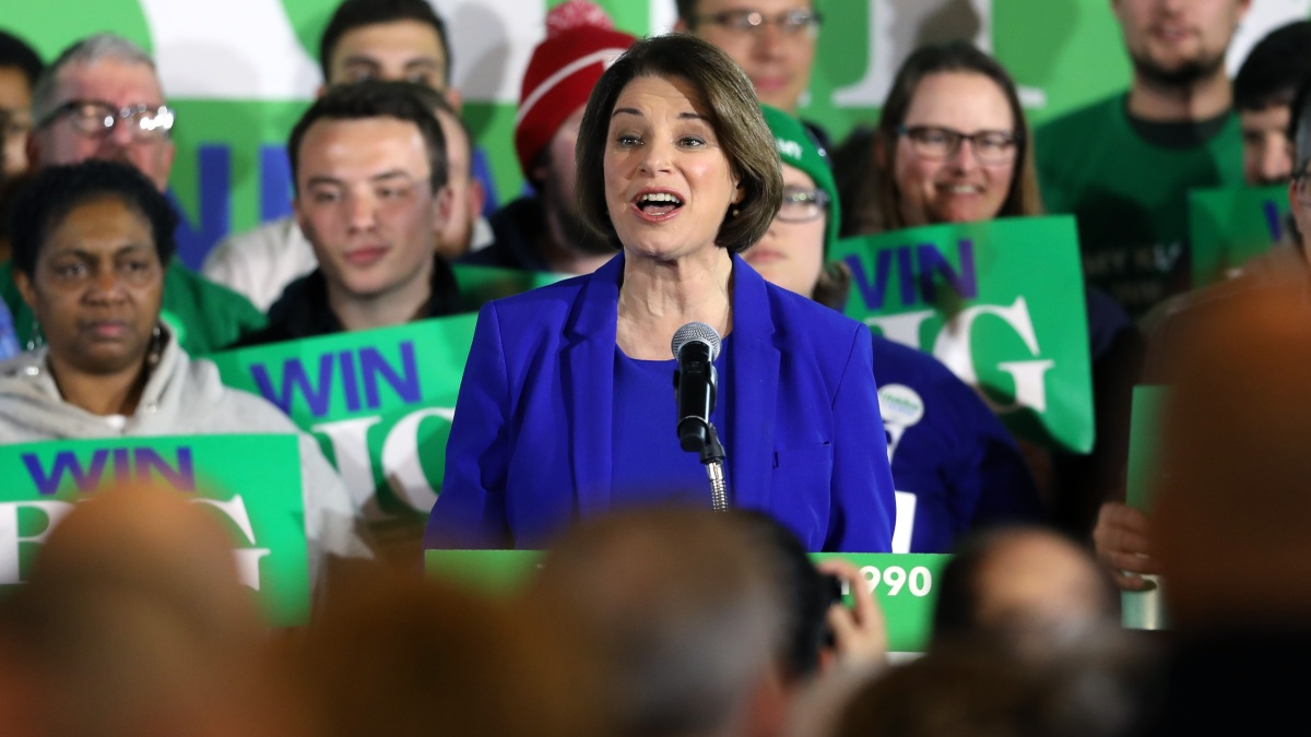 Klobuchar Nabs Third Place in New Hampshire, Exclaims, 'Hello, America!' 1