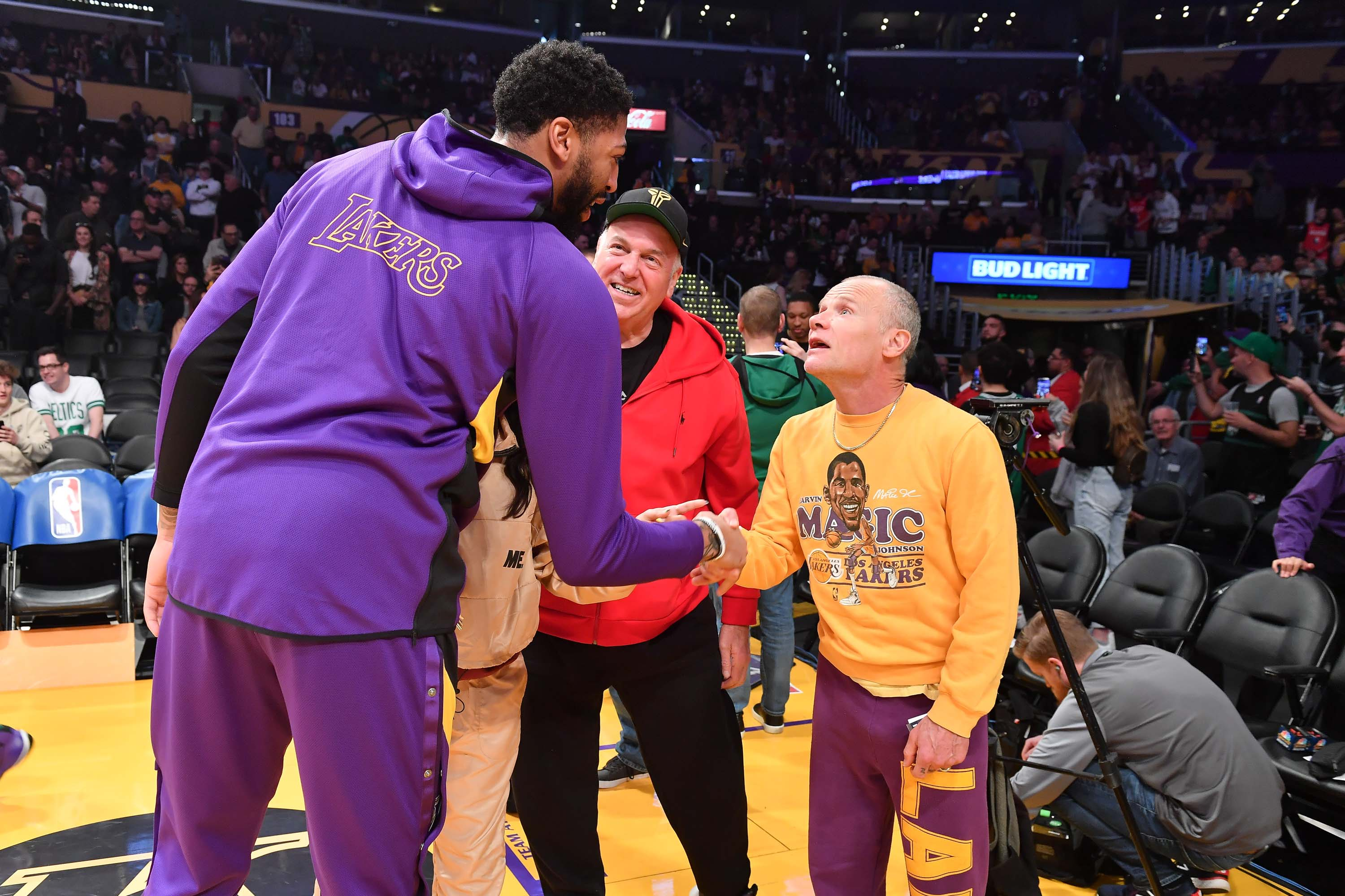 Celebrity Fans In The Stands Los Angeles Lakers Edition Nbc Los Angeles