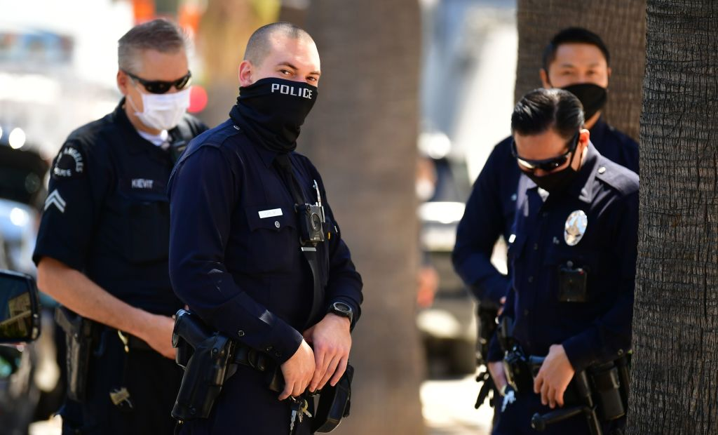 Two Black Activists Sniff at Proposed Reductions in LAPD Budget ...