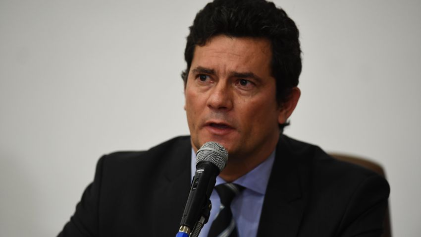 Brazilian Minister of Justice and Public Security, Sergio Moro