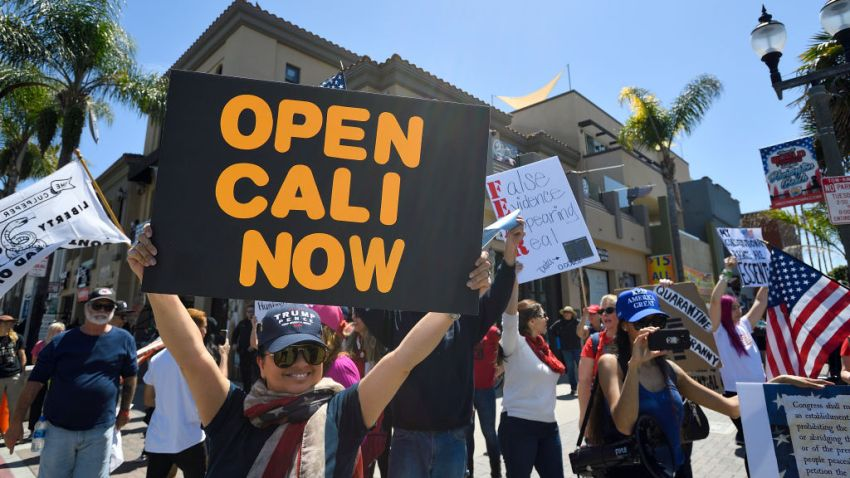 More than 100 Protesters Call for Relaxing Quarantine in ...
