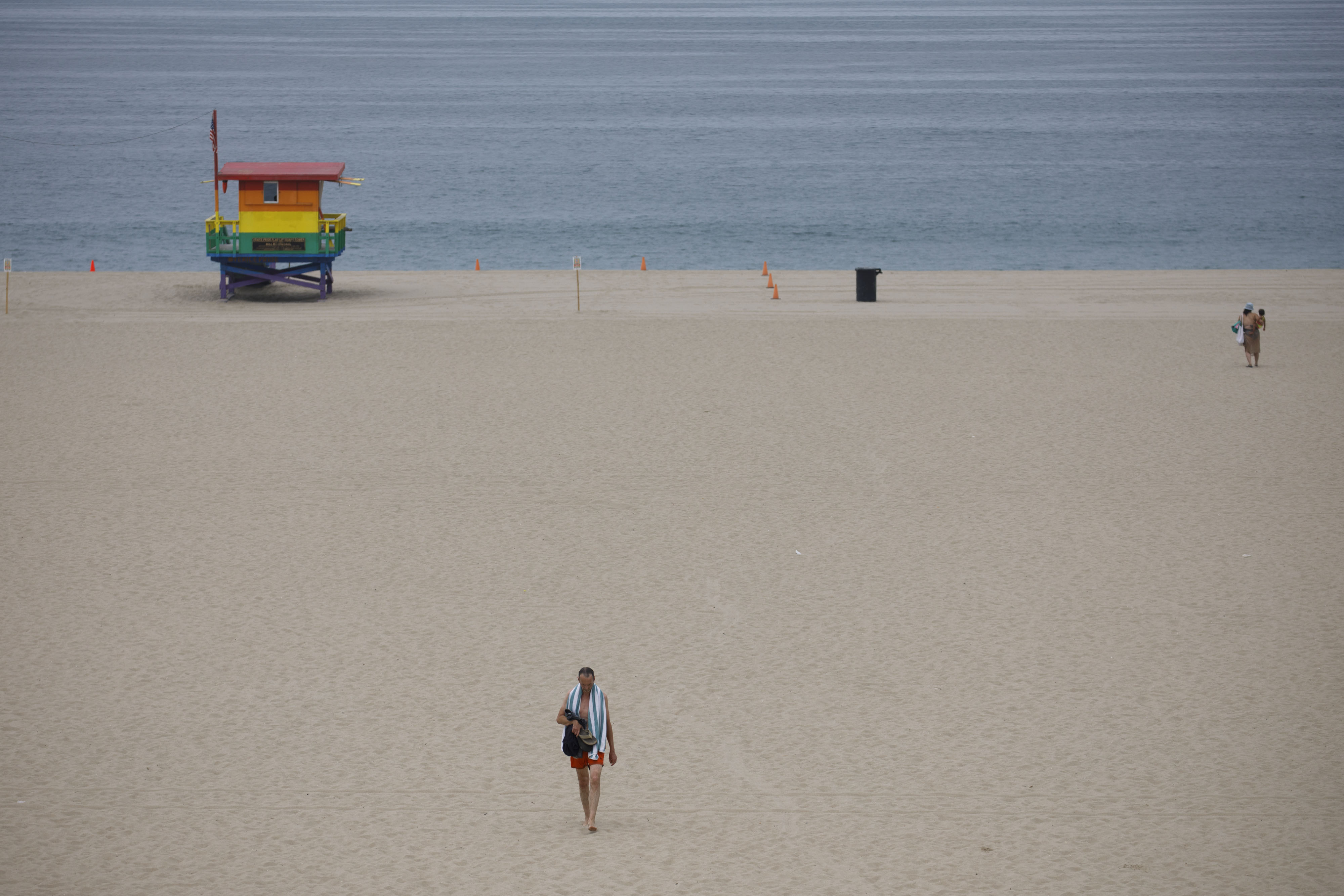 LA County Beaches Closed for Fourth of July Weekend