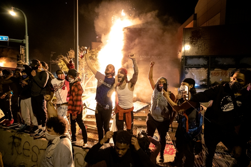 Protesters, Enraged by Black Americans Killed, Gather Nationwide