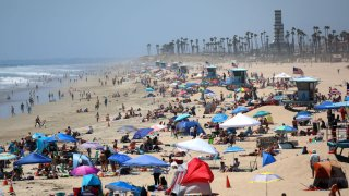 Huntington Beach July 3, 2020