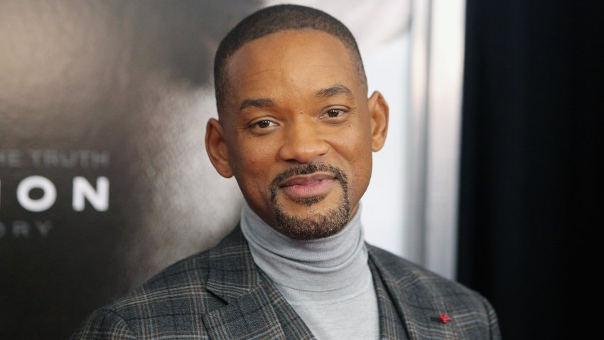 "In this Dec. 16, 2015, file photo, actor and rapper Will Smith attends the ""Concussion"" New York premiere at AMC Loews Lincoln Square in New York City."