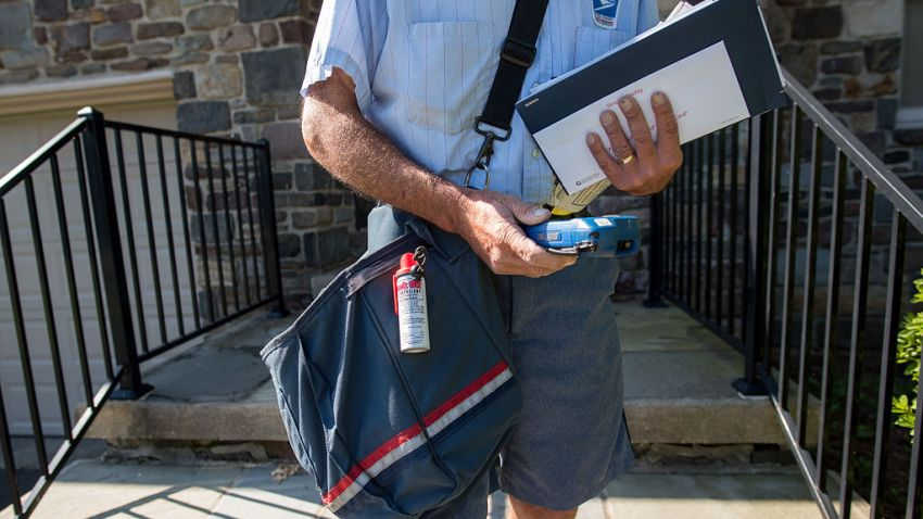 United States Postal Service (USPS) mailman