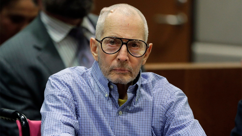 Robert Durst in court