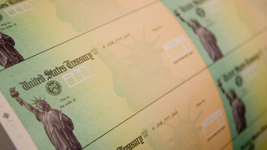 Checks prepared for printing