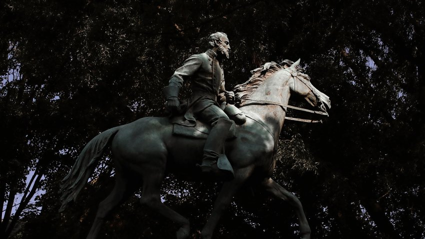 """Stonewall"" Jackson Monument in Charlottesville, Virginia"