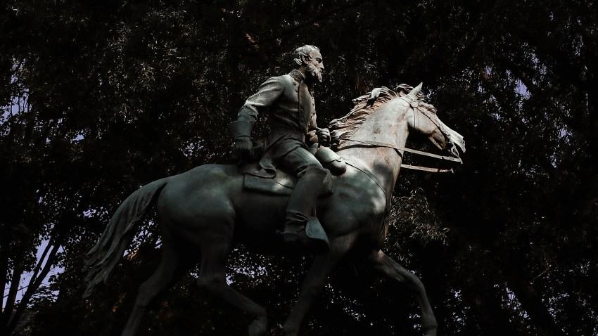 """""""Stonewall"""" Jackson Monument in Charlottesville, Virginia"""