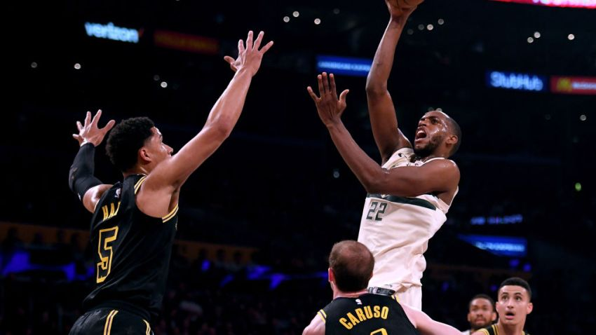 Bucks Lakers without LeBron