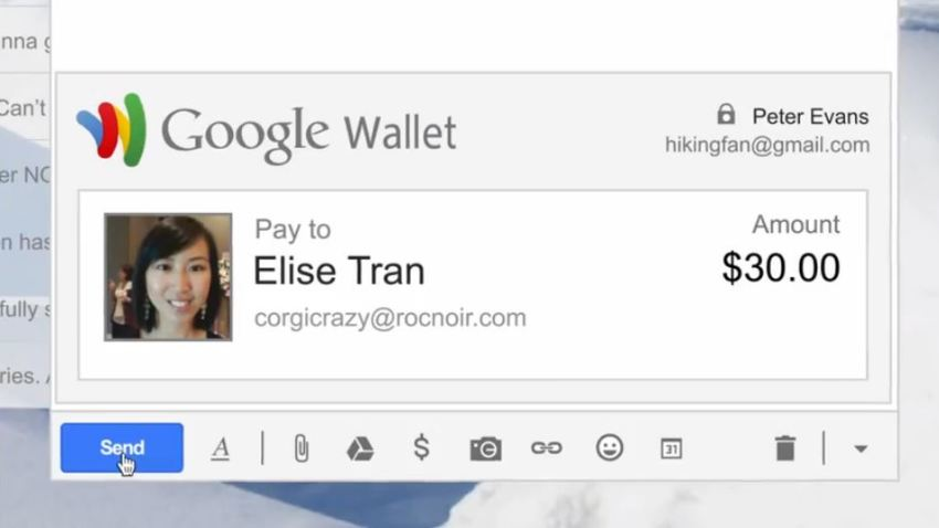 GmailGoogleWallet