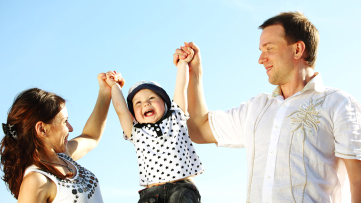 Young Happy Family Shutterstock